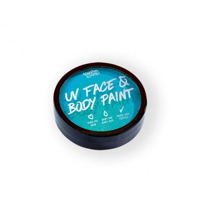 UV face&body cake paint blue (18g)