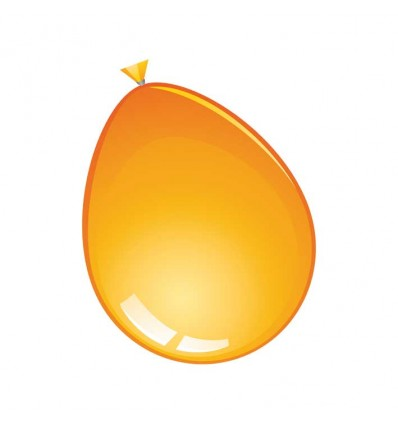 Ballonnen oranje (Ø61cm, 10st)