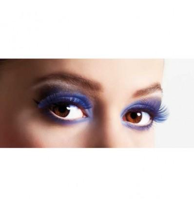 Wimpers basis blauw (zelfklevend)