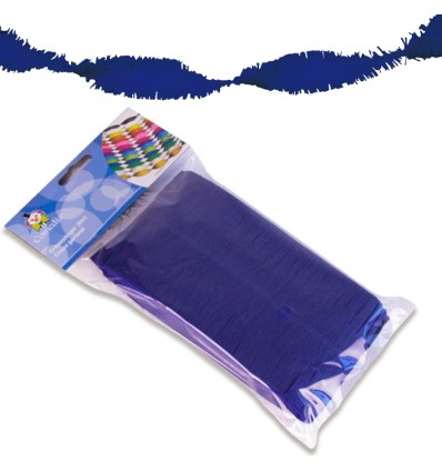 Crêpeslinger donkerblauw (6m)