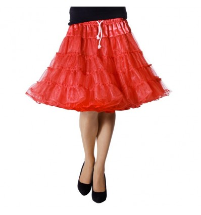 Petticoat luxe rood