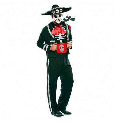 Catrin kostuum zwart (mt M/L)