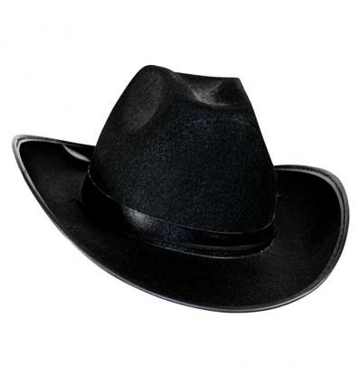 Cowboyhoed Dallas klein vilt zwart