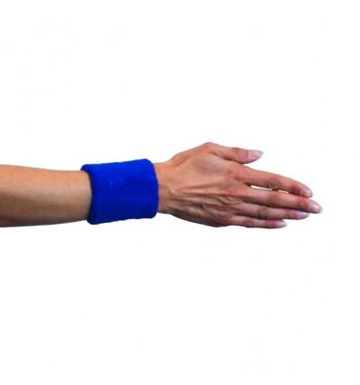 Polsband kobaltblauw (2st)