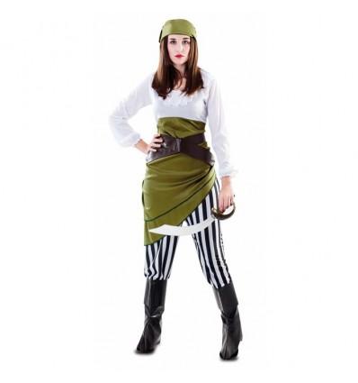Pirate groen (mt M/L)