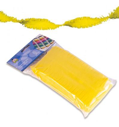 Crêpeslinger neon geel (6m)
