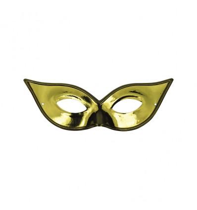 Oogmasker Vlinder goud