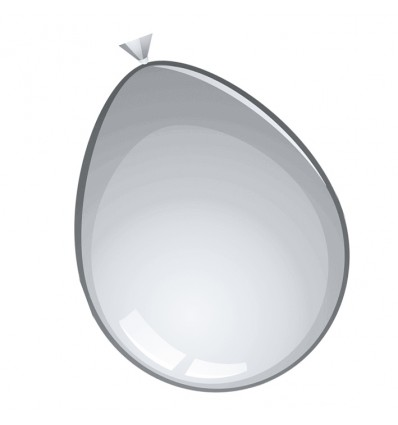 Ballonnen grijs (Ø30cm, 100st)