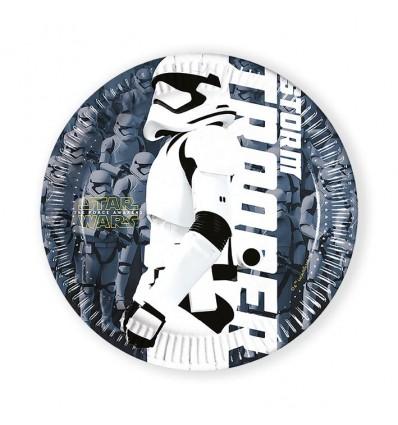 Bordjes Star Wars the force (Ø20cm, 8st)
