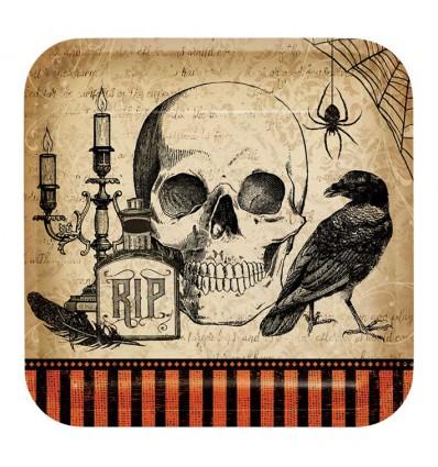 Bordjes spooky symbols (Ø23cm, 8st)