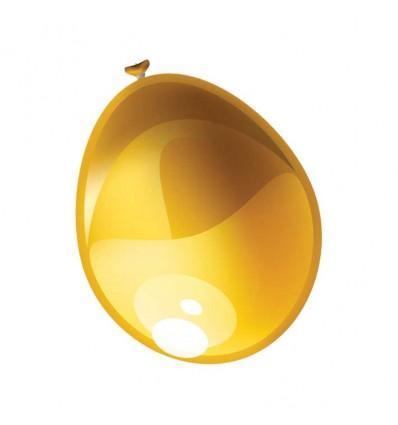 Ballon metallic goud (Ø61cm)