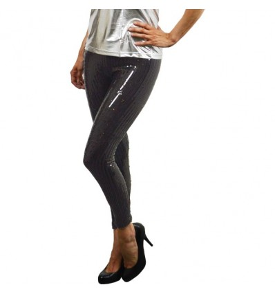 Legging sequince zwart (mt L/XL)
