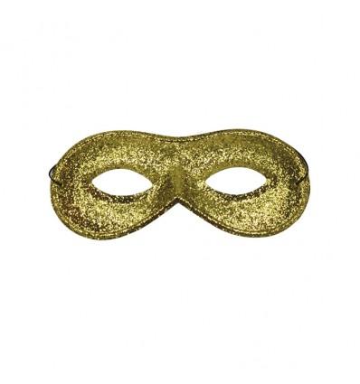 Oogmasker Farfalla glitter goud