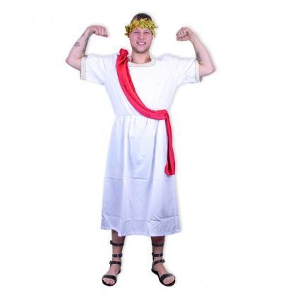 Nero kostuum met lauwerkrans (mt XL)