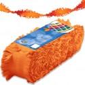 Crêpeslinger oranje (24m) BV