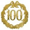 Jubileumcijfer '100' (24cm)