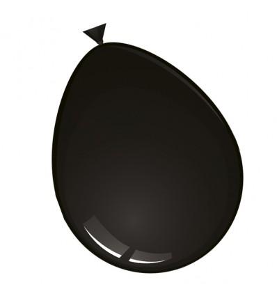 Ballonnen zwart (Ø30cm, 100st)