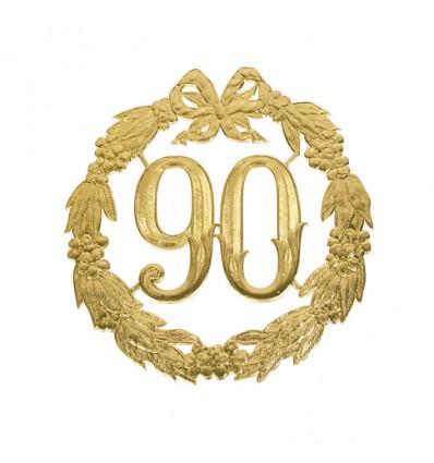Jubileumcijfer '90' (13cm)