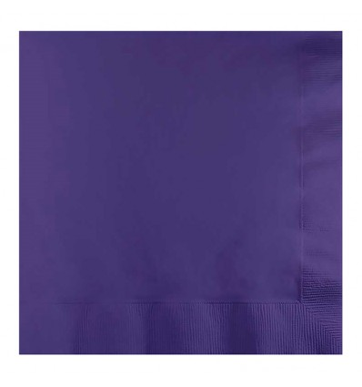 Servetten purple (33x33cm, 20st)