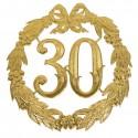 Jubileumcijfer '30' (24cm)