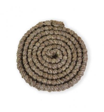 Wolcrêpe lichtbruin-grijs (100cm)