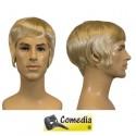 Theaterpruik heer-kort blond kanekalon