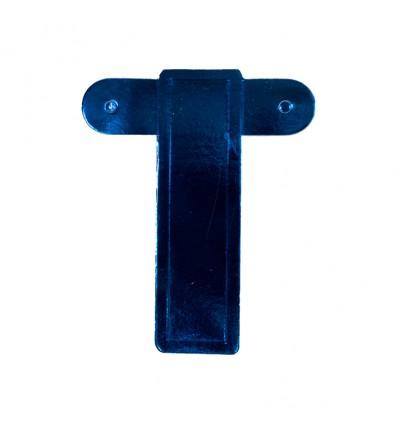 Bannerletter 'I' blauw