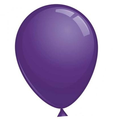 Topballon kristal paars (Ø91cm, 6st)