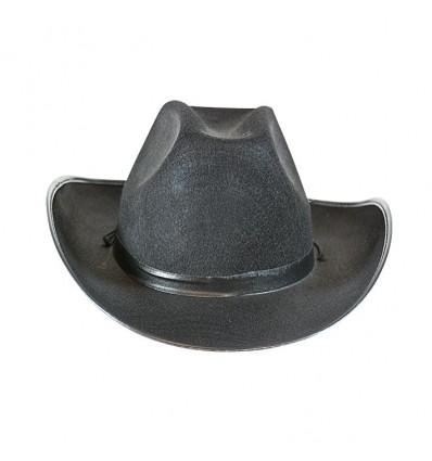 Cowboyhoed Dallas vilt zwart