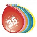 Ballonnen 35 jaar (Ø30cm, 8st)