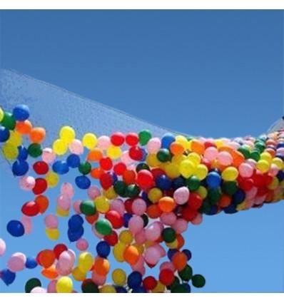 Drop net voor 200 ballonnen