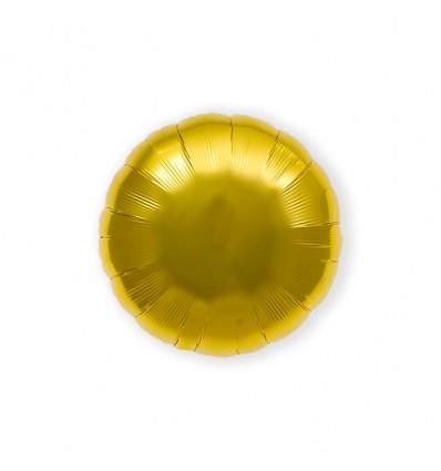 Folieballon gold round (46cm)