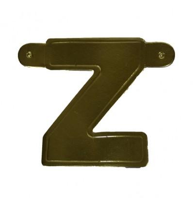 Bannerletter 'Z' goud