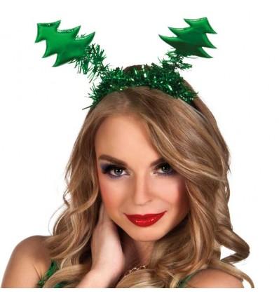 Diadeem kerstboompjes