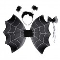 Vleugels met tiara en staf spin