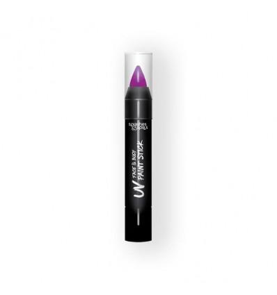 UV face&body paint stick purple (3,9g)