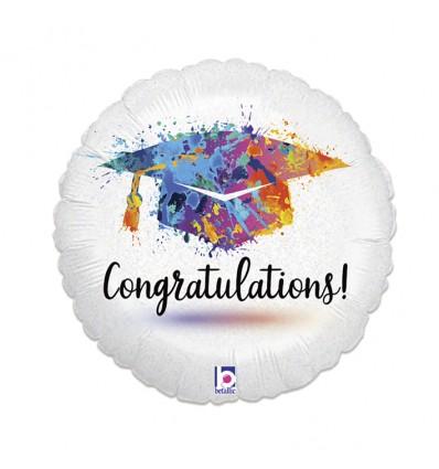 Folieballon 'Congratulations' (46cm)