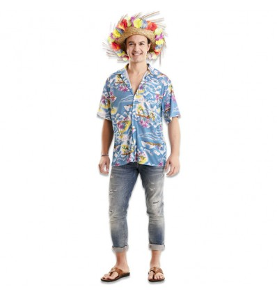 Hawaiiaans overhemd (mt XL)